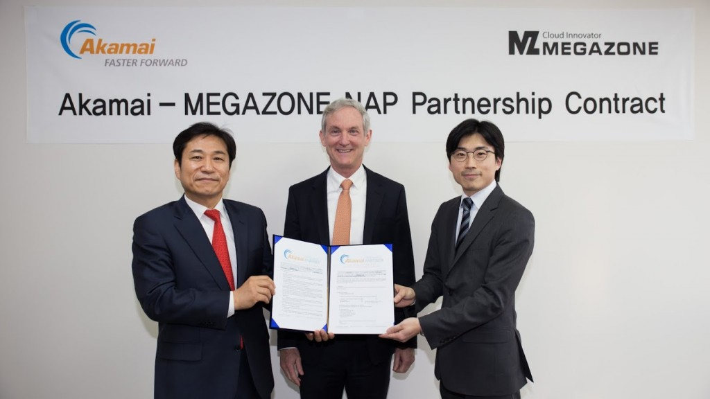 Akamai Megazone Partnership Contract